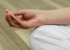 Mudra översätts till 'försegling', 'symbol' eller 'gest', handformationer inom yoga